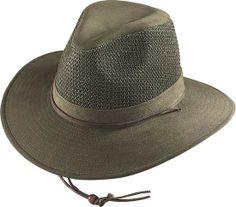 d5b5543f34dac Henschel Aussie Breezer Hat 5321 at Viomart.com