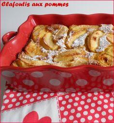 ♥ Un délicieux clafoutis aux pommes, ca vous dit? {version express et léger} ♥ Bento, Sweet Corner, Food Cravings, Flan, Yummy Cakes, Sweet Recipes, Deserts, Food Porn, Pudding