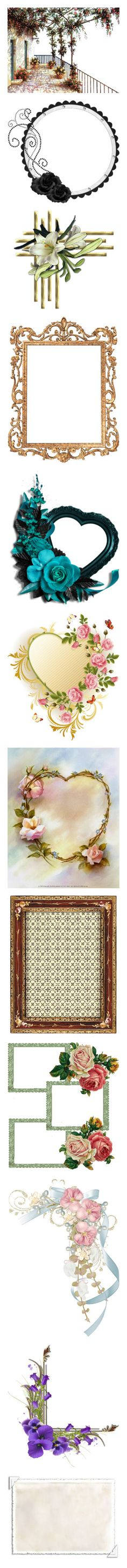 """""""Beautiful Frames 🖼🖼🖼"""" by mellie2cute ❤ liked on Polyvore featuring backgrounds, balcony, art, buildings, landscape, frame, round, circle, borders and circular"""