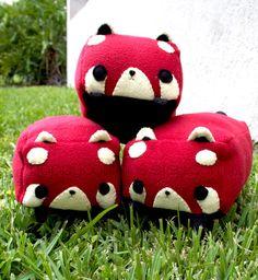 Cubed Animal Plush  Kawaii Plushie  Cute Stuffed by HappyCosmos, $15.00