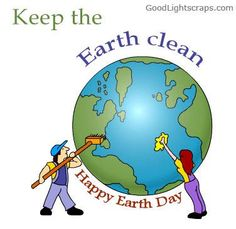 Earth Clean. Happy Earth Day