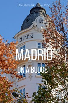 Travel to Madrid on a Luxury Budget | DIYDenmark Travel Blog #travel #travelblogger #cheaptravel #madrid #wedding Europe Travel Tips, European Travel, Budget Travel, Travel Guides, Slow Travel, Travel Hacks, Portugal Travel, Spain Travel, Cheap Travel