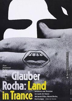 Authors:Hillmann,Hans Origin of film:Brazil Year of poster origin:1967 Director:GlauberRocha