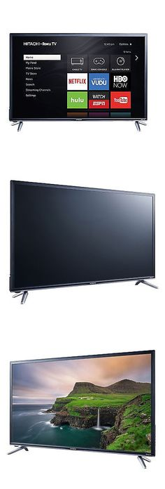 hitachi 43 inch smart tv. smart tv: hitachi 43 class 1080p roku wifi led tv 43r5 -\u003e buy inch