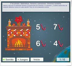 """Divisiones navideñas"" de mundoprimaria.com"