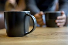 Try bringing your own mug to a coffee shop. Some coffee shops will give you a discount for bringing your own cup.