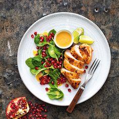 En smakrik kyckling som passar till både vardags och fest. Servera med quinoa eller fullkornsris.