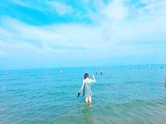 Instagram의 @kimyujinnn님: #리도섬 #Lido #웰컴투리도비치 #이탈리아 #베네치아 #해변 #자유분방하다 #올여름첫번째물놀이