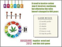 Legalize weed and end this sick game...