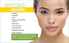 Skincare guide!