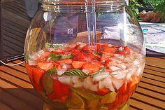 Weltbeste Erdbeerbowle