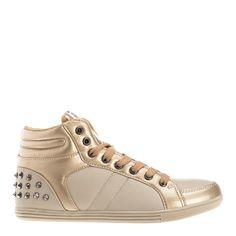 Γυναίκεια παπούτσια μπάσκετ Jimi καφε