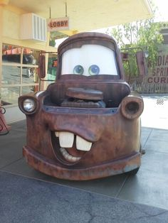 Mater Cars Land Disney California Adventure Summer 2013 -Taken by ItsPicturePerfect