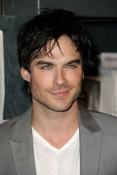 Ian Somerhalder as Christian Grey!  (They better not ruin another book for me & cast Robert Pattinson!)