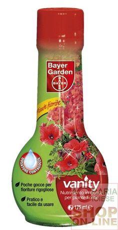 BAYER VANITY CONCIME LIQUIDO PER PIANTE FIORITE ML. 175 https://www.chiaradecaria.it/it/fertilizzanti/1262-bayer-vanity-concime-liquido-per-piante-fiorite-ml-175-8000560883473.html