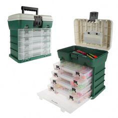 Wakeman Outdoors Green Camping and Fishing Storage Tool-Box - Modern