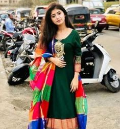 Handsome Celebrities, Indian Celebrities, Beautiful Girl In India, Beautiful Girl Image, Eid Dresses For Girl, Nice Dresses, Zaira Wasim, Long Gown Dress, Kurti Designs Party Wear