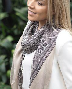 Silk scarf, summer, fashion, style