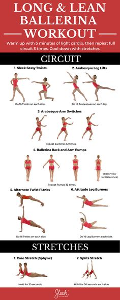 Try this Long & Lean Ballerina Body Workout circuit from Sleek Technique ballet fitness to sculpt your body dancer style at home, at the gym or anywhere at all. Ballerina Workout, Ballerina Body, Ballerina Moves, Ballerina Project, Dancer Body Workouts, Dancer Workout, Dancers Body, Ballet Dancers, Ballet Barre Workout