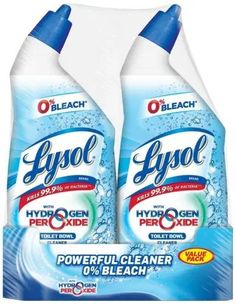 Lysol Bleach Free Toilet Bowl Cleaner, w.