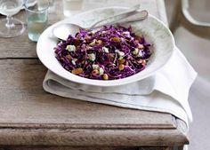 Red cabbage and hazelnut salad recipe - 9kitchen