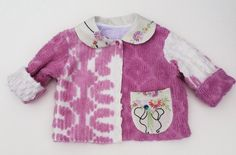 Vintage Chenille Jacket Size 6 Months – Lavender and Old Lace