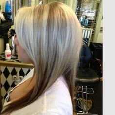 highlights, lowlights. hopefully mine will look like this gals- with the darker underneath.