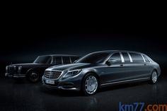 Mercedes-Benz Maybach Pullman Gama Maybach Pullman Gama Maybach Pullman Turismo Exterior Frontal-Lateral 4 puertas