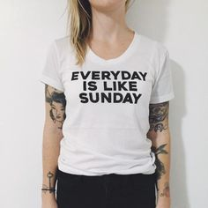 Everyday is Like Sunday The Smiths T-shirt