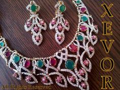 xevor stones and kundan jewellery collection 2013 6