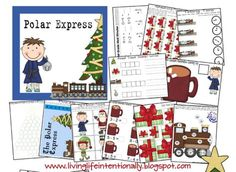 Free Polar Express Printable Preschool Pack