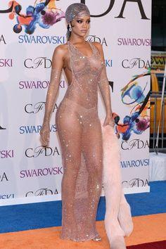 Awesome Crystal Dress Rihanna CFDA Awards 2014 x Swarovski diamonds dress... Check more at http://mydresses.ml/fashion/crystal-dress-rihanna-cfda-awards-2014-x-swarovski-diamonds-dress/