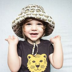 Roooar! Be quick our 40% off Boxing Day sale ends midnight  #tigerbuckethat #acornkids #kidshats #hats #boxingdaysale