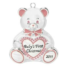 2011 Baby's First Christmas Ornament