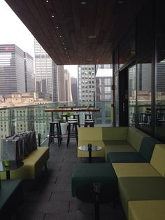 NYC rooftop bar CitizenM By C-More http://interieuradvies.blogspot.nl/