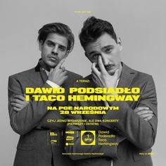 #soldout Taco Hemingway Dawid Podsiadło ^^ Good Morning Girls, New Gods, My Man, Tacos, Celebrities, Instagram, David, Artists, Bedroom
