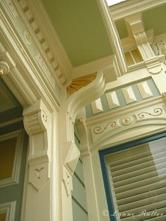 color - blue window trim : victorian color - blue window trimvictorian color - blue window trim : victorian color - blue window trim 10 Clothing hacks you'll wish you knew Yesterday. Best Exterior Paint Colors for Your Home Best Exterior Paint, Exterior Paint Colors, Exterior House Colors, Paint Colors For Home, Exterior Design, Victorian Architecture, Architecture Details, Victorian Homes Exterior, Exterior Homes