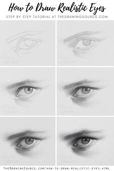 Learn how to draw realistic eyes in this step by step drawing tutorial! | realistic drawing tutorials | eye drawing tutorials step by step | realistic eye drawing tutorial | realistic eye drawing | realistic eye drawing step by step | realistic eye drawing pencil | how to draw eyes | how to draw eyes realistic | how to draw eyes realistic | eye drawing reference | learn to draw eyes step by step | draw eyes | draw eyes step by step | eye pencil drawing | drawing eyes step by step Human Eye Drawing, Easy Eye Drawing, Eye Pencil Drawing, Nose Drawing, Pencil Drawing Tutorials, Ball Drawing, Realistic Eye Sketch, Realistic Face Drawing, How To Draw Realistic