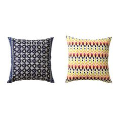 JASSA Cushion cover IKEA The zipper makes the cover easy to remove. Reversible; two identical sides for even wear.