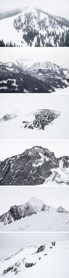 This is a new collection of high resolution landscape pictures featuring snow covered mountains...