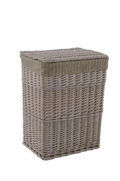 Hamptons Tall Basket - Grey OR White - Large RRP $79