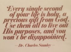 Dr. Charles Stanley quote
