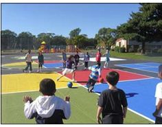 Peaceful Playgrounds gets kids moving.
