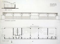 Home Projects, House Plans, Floor Plans, Facade, How To Plan, Arch, 1984, House 2, Thesis