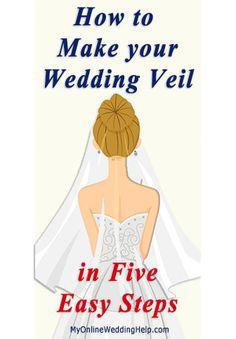 Make your own wedding veil (the best tutorial I\'ve found online ...