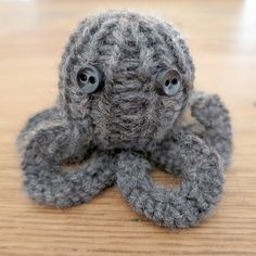 Knit up this little octopus pal in just an afternoon. This is for you @Jessica Calderon !