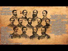 Az aradi vértanúk utolsó mondatai - I Love Hungary Aradia, Hungary, History, Erika, My Love, Youtube, Movies, Movie Posters, Chart