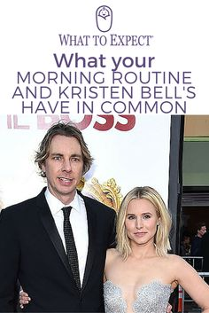 It's a common sound in most homes with children. Being woken up by your child's screams and shrieks each and every morning for pretty much no reason. Even for actress and mother of two, Kristen Bell. #morningroutine #whattoexpect | whattoexpect.com