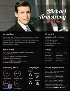 FREE Resume for Software Engineer Fresher Template - Word (DOC) | PSD | InDesign | Apple (MAC) Apple (MAC) Pages | Publisher | Illustrator | Template.net Simple Resume Template, Powerpoint Design Templates, Resume Design Template, Resume Templates, Cv Template Student, Resume Software, Resume Format For Freshers, Sample Resume Format, Cv Format