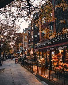 Autumn vibes on Newbury Street, Boston. Boston Pictures, Fall Pictures, Love Photos, Halloween Pictures, Autumn Aesthetic, City Aesthetic, Autumn Photography, Travel Photography, Newbury Street Boston